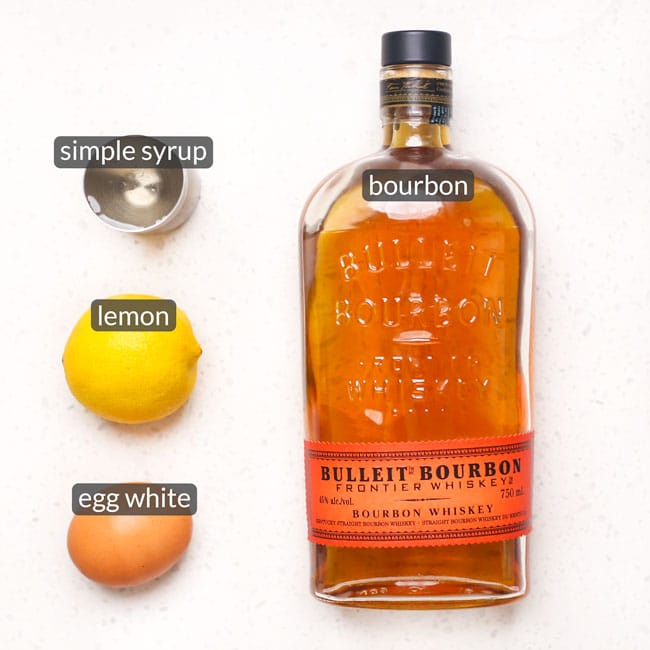 ingredients in whiskey sour