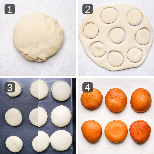 steps for frying donuts