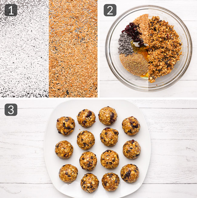 how to make no bake oatmeal energy balls