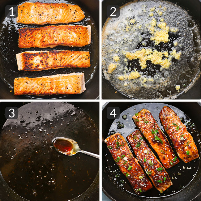 how to make maple soy glazed salmon