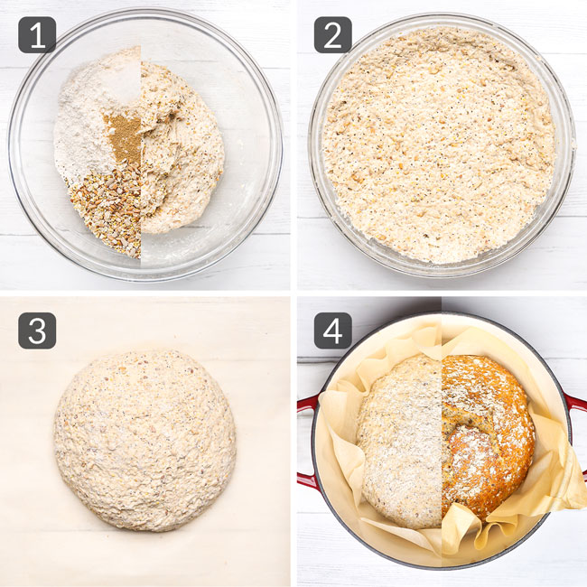 how to make multigrain bread