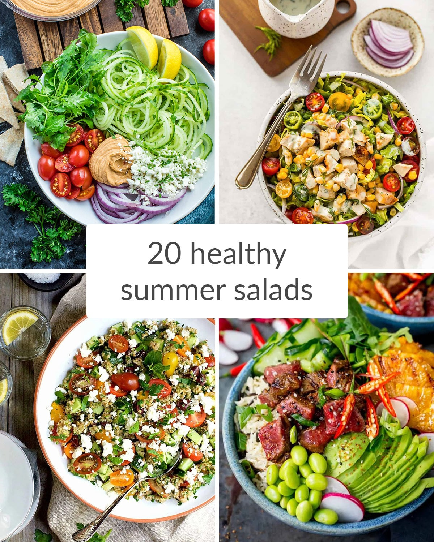 20 healthy summer salads