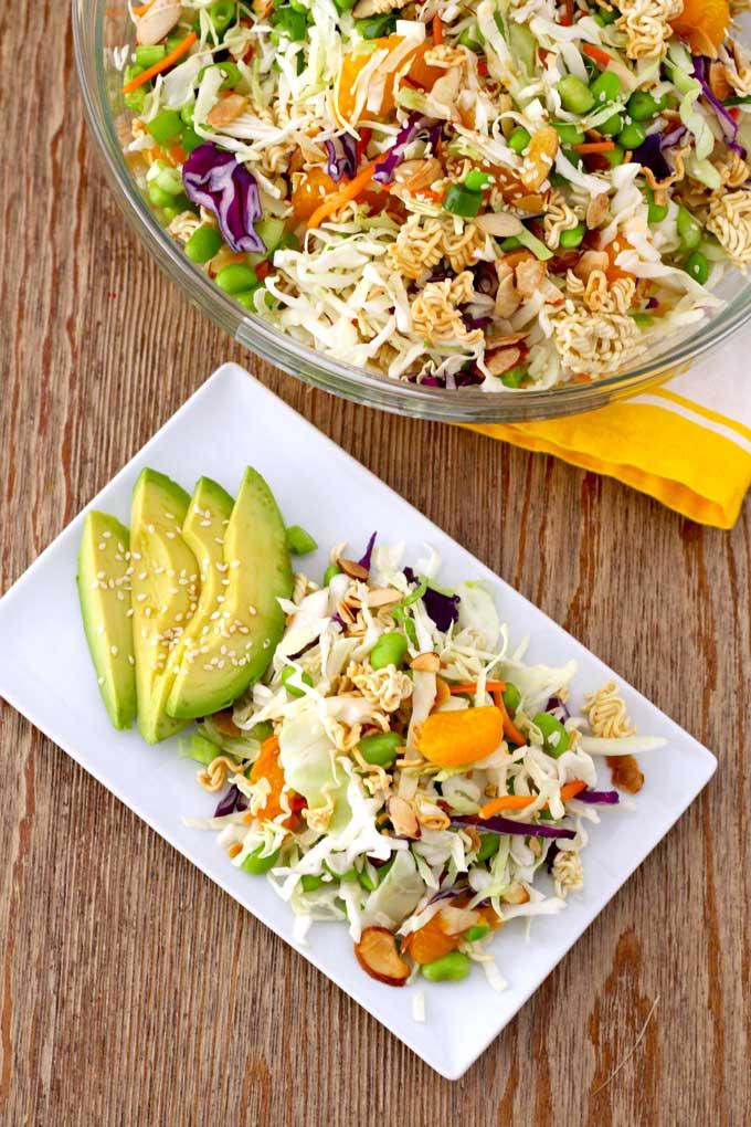 Crunch Asian Ramen Noodle Salad