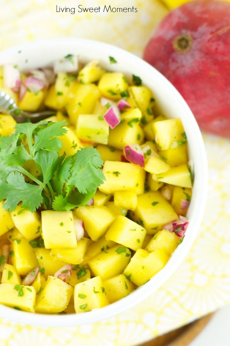 Refreshing Mango Salad