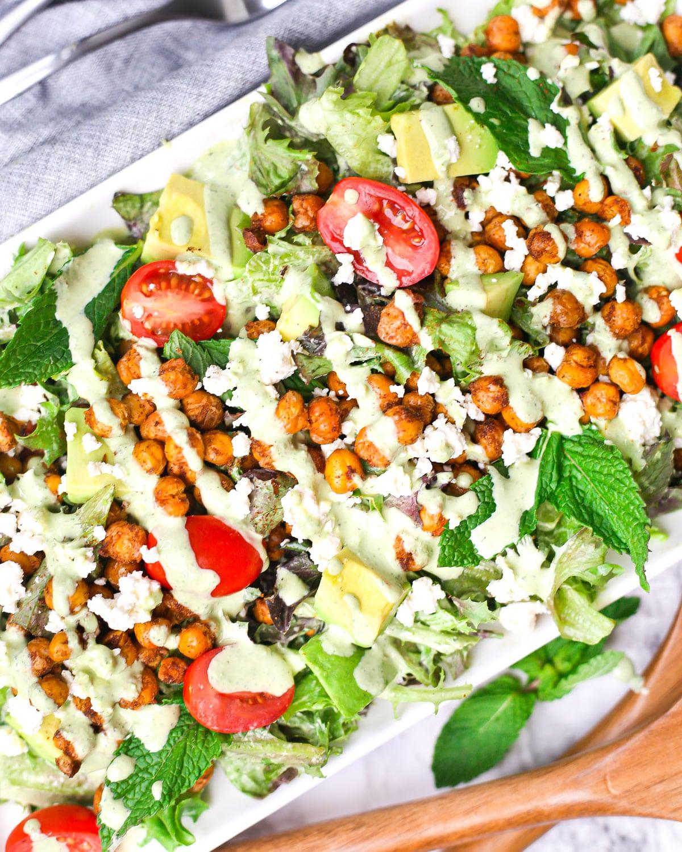 Roasted Chickpea Salad